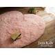 Ковер в форме сердца розовый в детскую для девочки JumKids